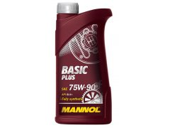 Převodový olej 75W-90 Mannol Basic Plus GL-4+ - 1L Převodové oleje - Převodové oleje pro manuální převodovky - Oleje 75W-90