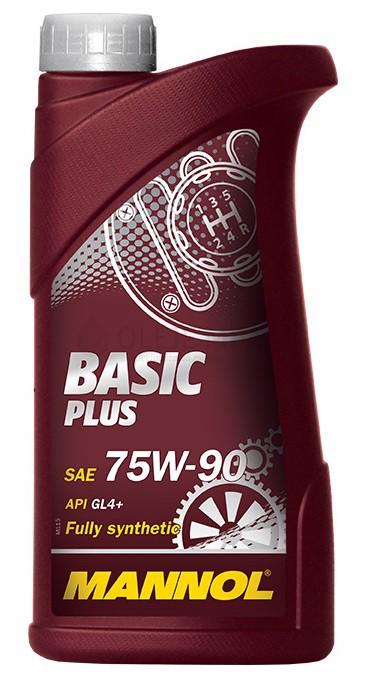 Převodový olej 75W-90 Mannol Basic Plus GL-4+ - 1L - Oleje 75W-90