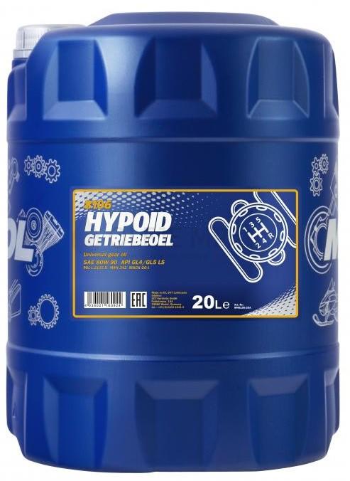Převodový olej 80W-90 Mannol Hypoid Getriebeoel - 20 L - Oleje 80W-90