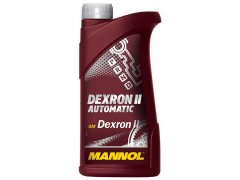 Převodový olej Mannol Dexron II Automatic ATF - 1 L Převodové oleje - Převodové oleje pro automatické převodovky - Olej GM DEXRON II
