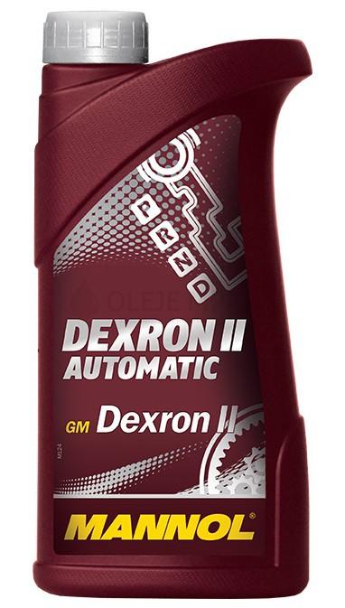 Převodový olej Mannol Dexron II Automatic ATF - 1 L - Olej GM DEXRON II