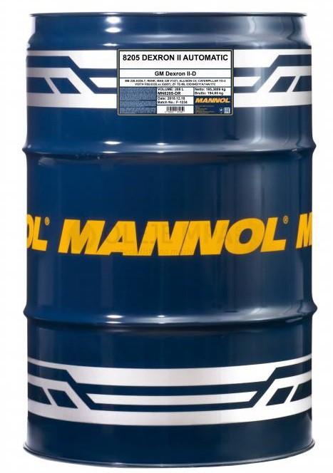Převodový olej Mannol Dexron II Automatic ATF - 208 L - Olej GM DEXRON II