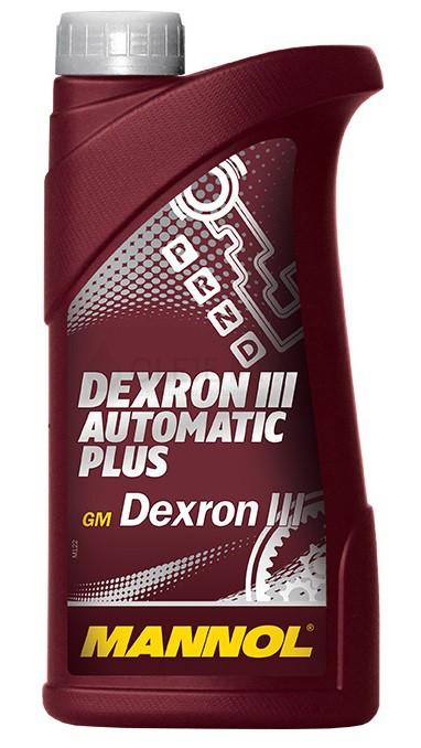 Převodový olej Mannol Dexron III Automatic Plus - 1 L - Oleje GM DEXRON III