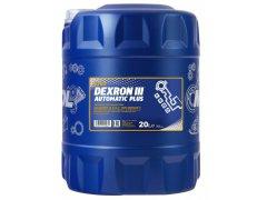 Převodový olej Mannol Dexron III Automatic Plus - 20 L Převodové oleje - Převodové oleje pro automatické převodovky - Oleje GM DEXRON III