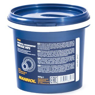 Vazelína Mannol Multipurpose Grease MP 2 - 0,8 KG - Třída NLGI 2