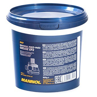 Vazelína Mannol Multi-MoS2 Grease EP 2 - 0,8 KG - Třída NLGI 2