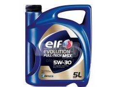 Motorový olej 5W-30 Elf Evolution Full-tech MSX - 5 L Motorové oleje - Motorové oleje pro osobní automobily - Oleje 5W-30