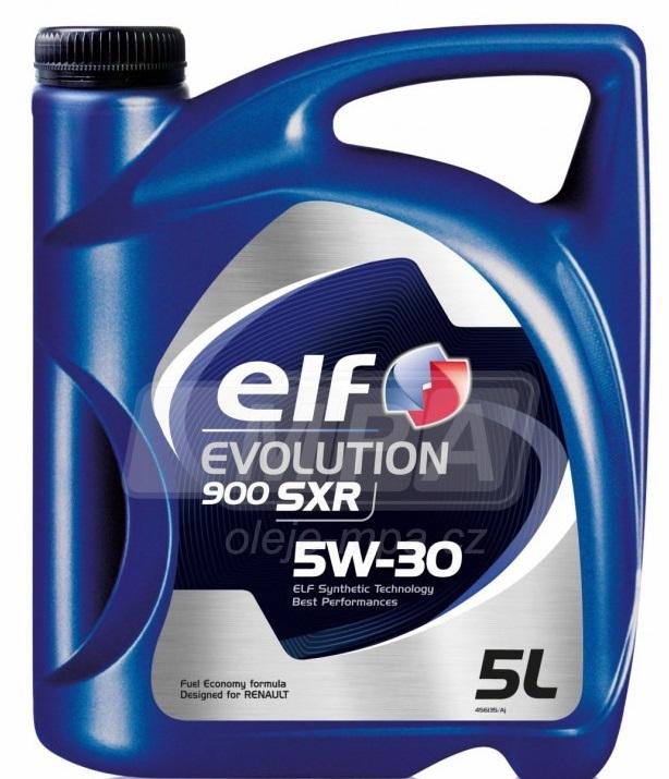 Motorový olej 5W-30 Elf Evolution 900 SXR - 5 L