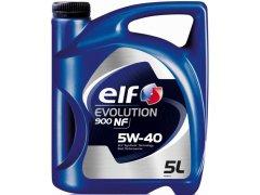 Motorový olej 5W-40 Elf Evolution 900 NF - 5 L