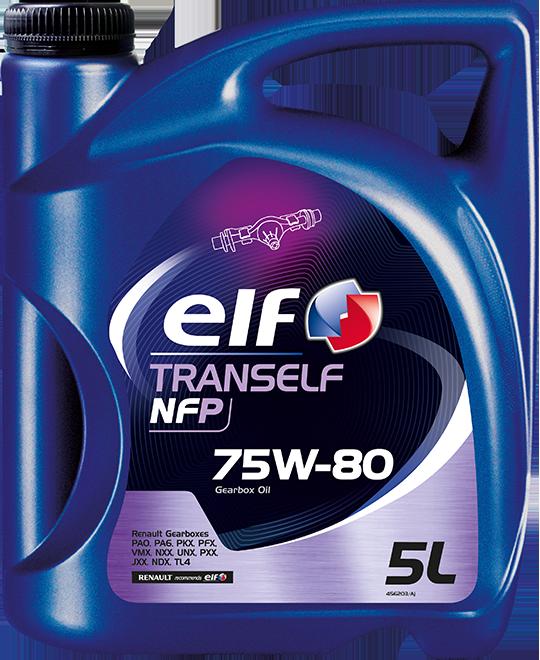 Převodový olej 75W-80 Elf Tranself NFP - 5 L - Oleje 75W-80