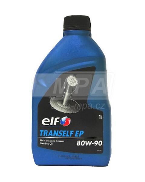 Převodový olej 80W-90 Elf Tranself EP - 1l - Oleje 80W-90