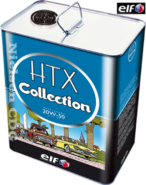 Veteránský olej 20W-50 Elf HTX Collection - 5 L - Motorové oleje pro veterány