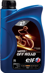 Motocyklový olej SAE 30 Elf Moto 2 OFF ROAD - 1 L - Motorové oleje pro 2-taktní motocykly
