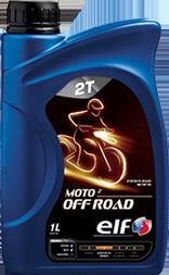 Motocyklový olej  Elf Moto 2 OFF ROAD SAE 30 - 1 L