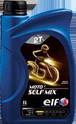 Motocyklový olej Elf Moto 2 SELFMIX SAE 30 - 1 L - Motorové oleje pro 2-taktní motocykly