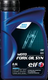 Tlumičový olej SAE 5W Elf Moto Fork Oil SYN - 500 ML - Ostatní oleje a produkty pro motocykly