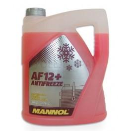 Chladící kapalina Mannol Antifreeze AF 12+ -40°C - 5 L - Chladící kapaliny - antifreeze